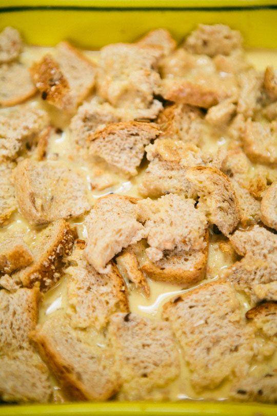 recipe peanut butter banana breakfast bread pudding recipes the kitchn