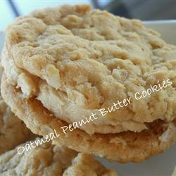 Oatmeal Peanut Butter Cookies III Allrecipes.com --these things are ...