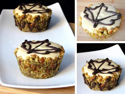 maple mousse walnut cups | cakes and bakes | Pinterest