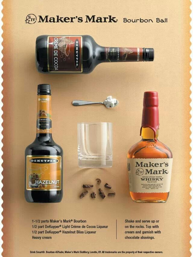 Bourbon Ball | Bevvies | Pinterest