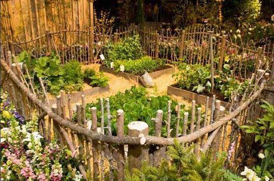 Urban Farm Backyard Ideas : vegetable garden  On the Farm  Pinterest