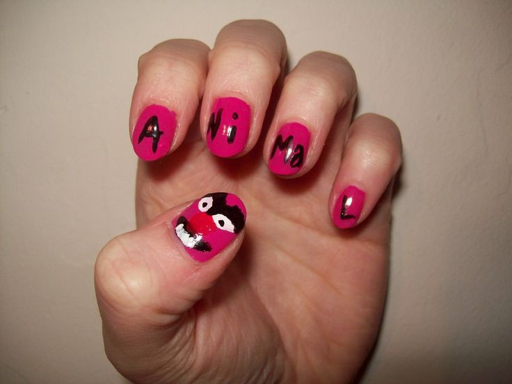 Muppet Animal Nails
