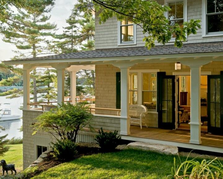 Dream Porch House Pinterest