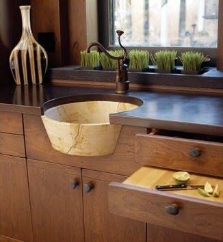 Cool Kitchen Sinks : Cool kitchen sink Spaces Pinterest