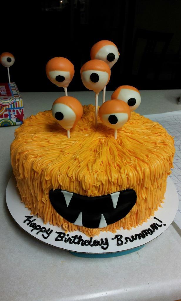 Monster cake | Kids Birthday Cakes | Pinterest