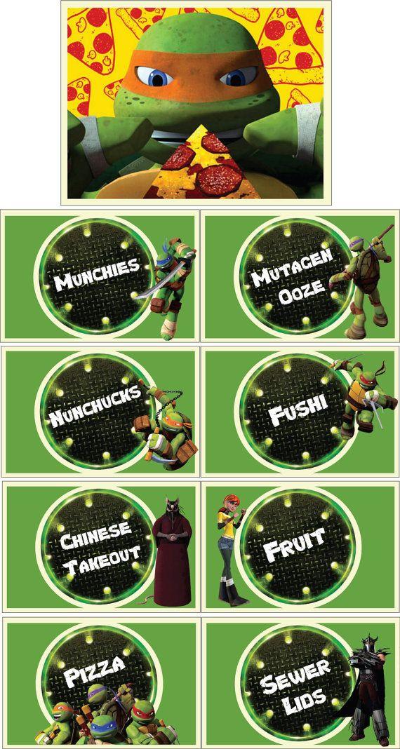 Ninja Turtle Birthday Invitations Printable Free with best invitation layout