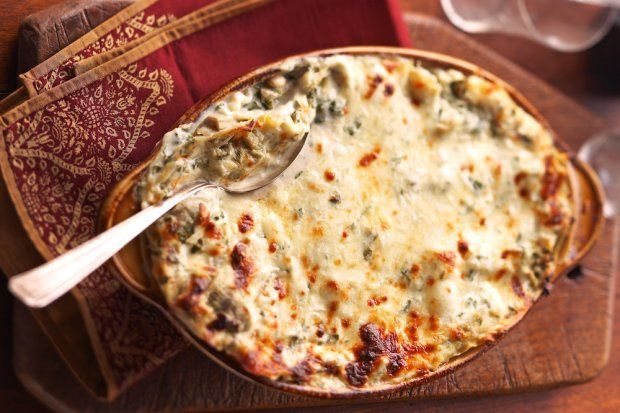 Creamy Artichoke Lasagna Bake | I love recipes, recipes and more reci ...
