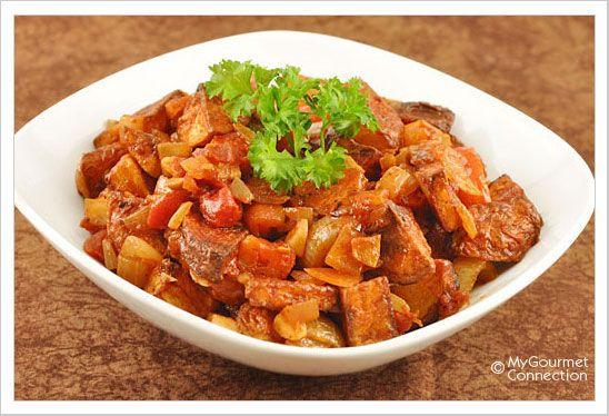 Paprika-Roasted Potatoes with Tomato-Sherry Sauce: Smoked paprika ...