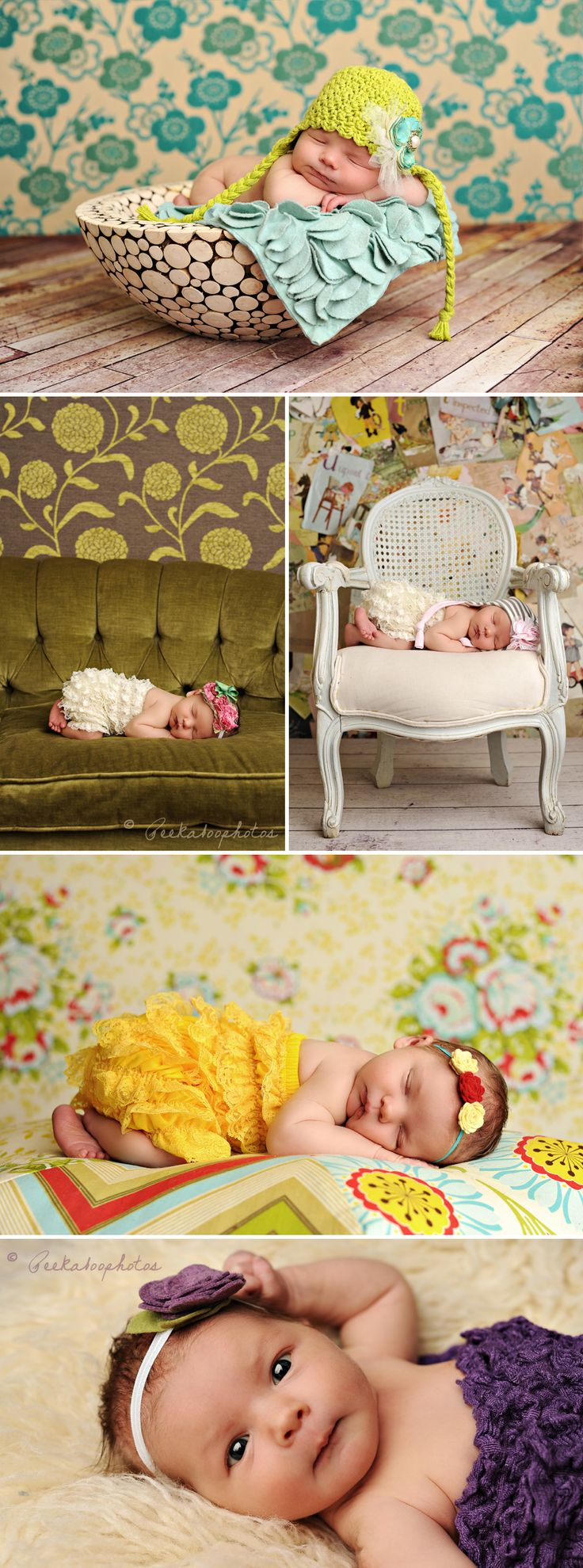 The most darling baby poses.