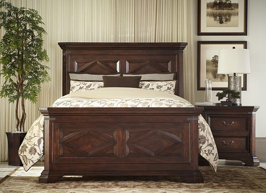 Bedrooms Newcastle King Panel Bed Bedrooms Havertys Furniture