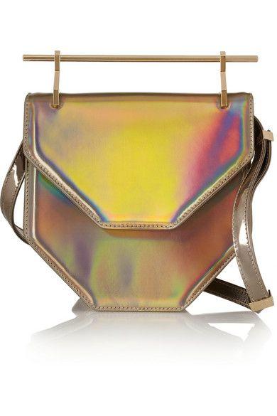 Shop now: Holographic shoulder bag