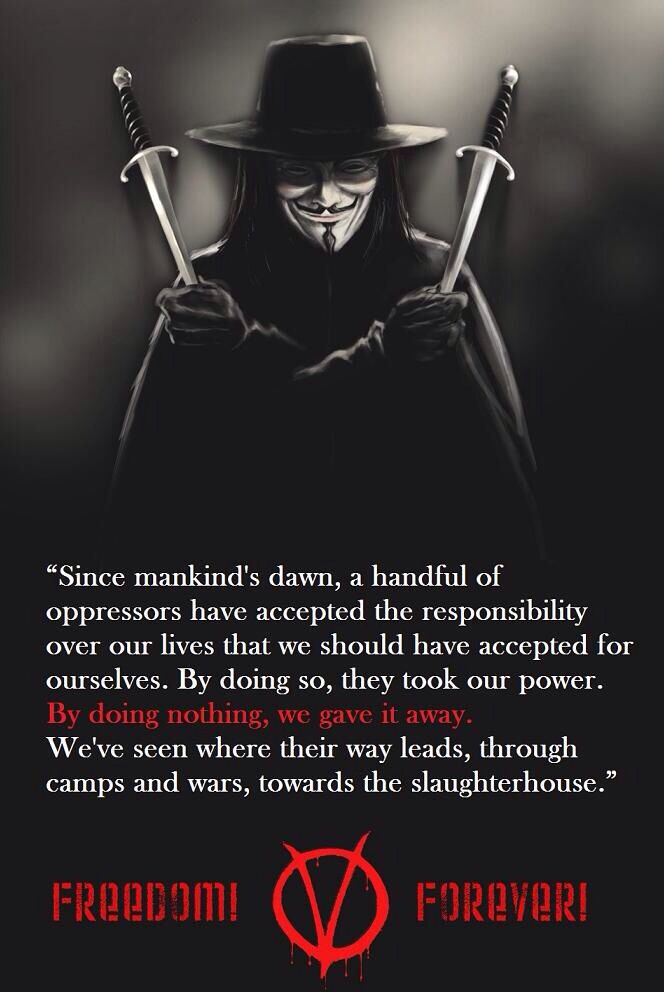 V for vendetta essays