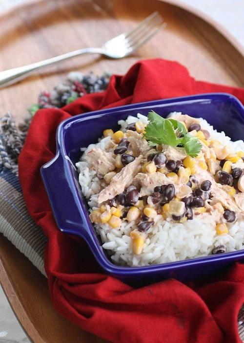 Slow Cooker Fiesta Chicken | Recipe