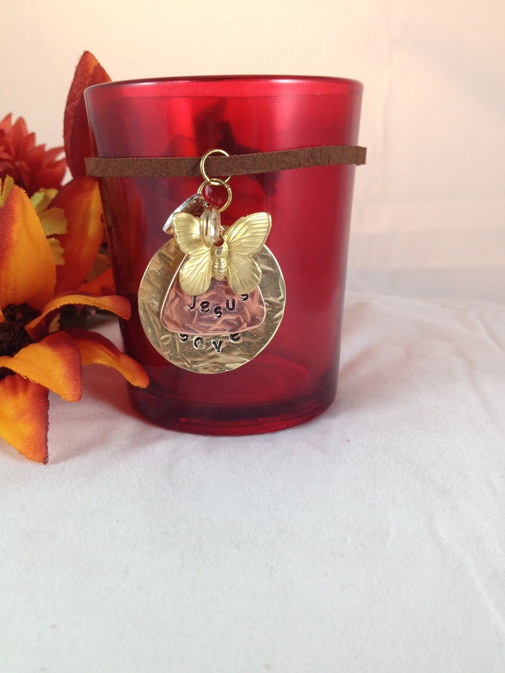 ... candle with personalized charms | Personalized Gifts and Jewel: pinterest.com/pin/18858892160763858