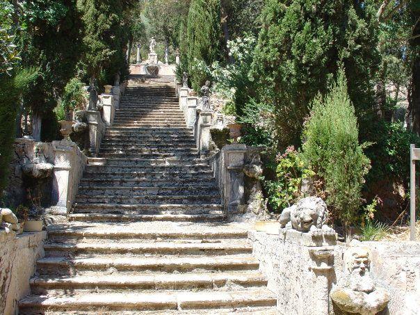 The moorish gardens of Raixa