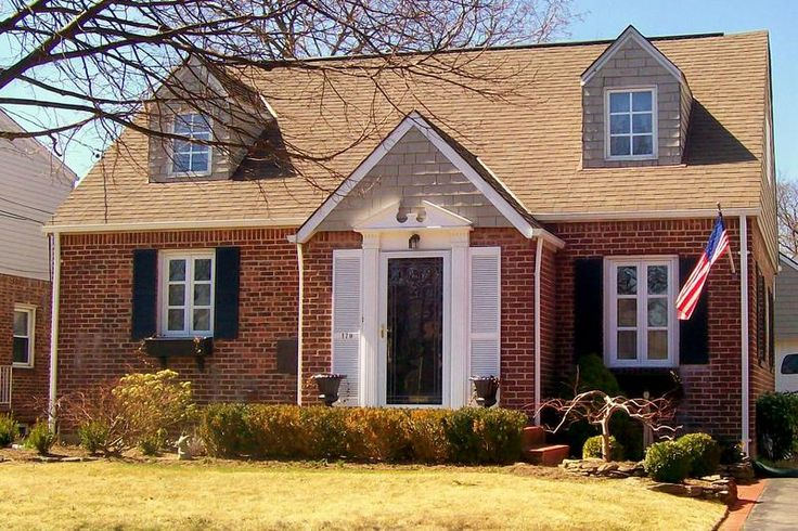 curb appeal for a cape cod this spectacular brick rear dormered cape