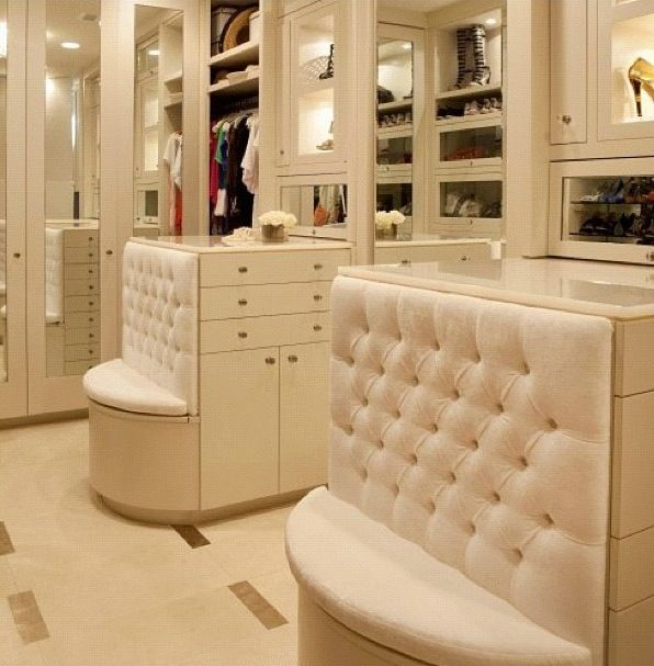 Elegant Walk In Closet Home Is Where The Heart Is