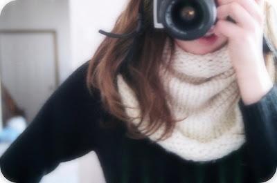erica knits: Chunky Knit Cowl Pattern, free pattern, Lion Brand's Wool