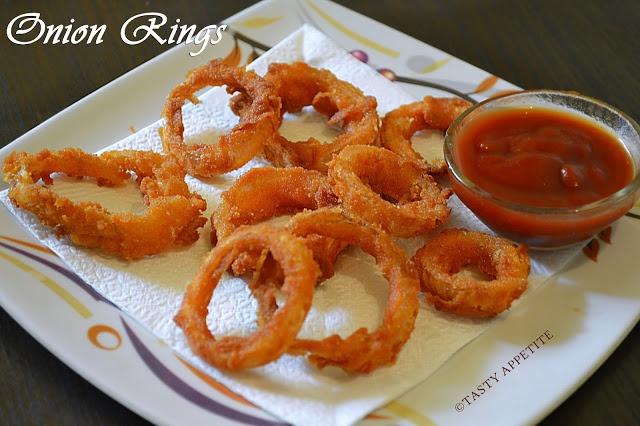 Crispy Onion Rings | Spice as Nice | Pinterest