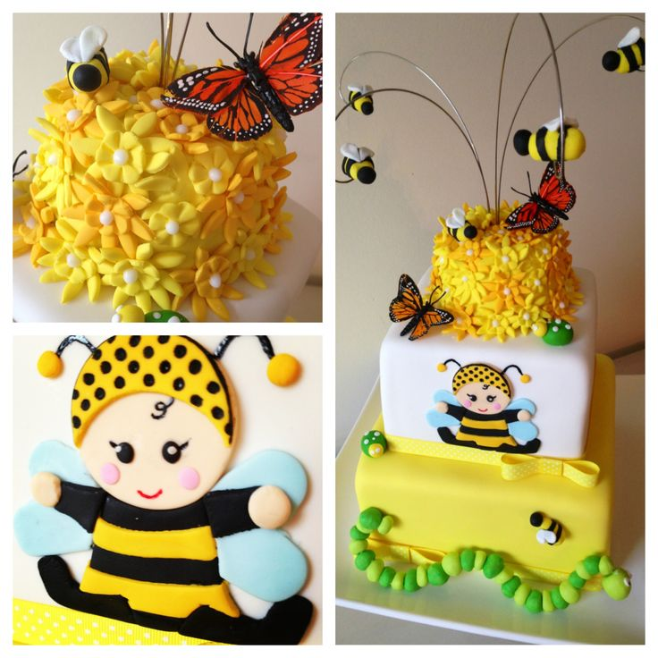 bumble bee baby shower cake baby shower gender party ideas