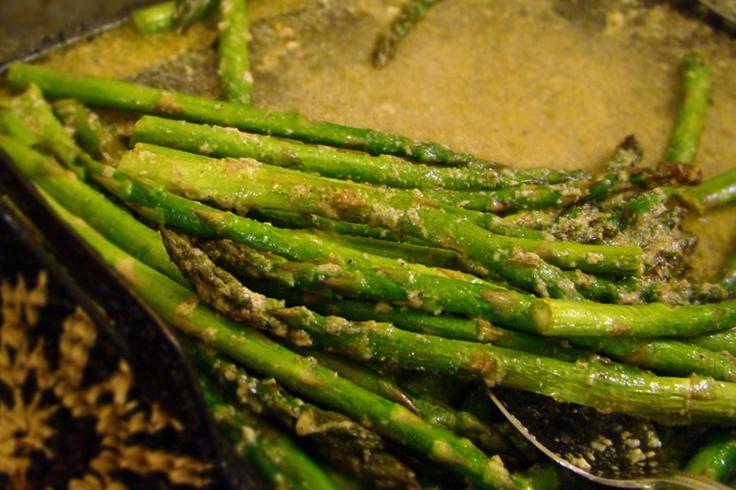 Roasted asparagus with garlic and lemon | TastE!!! Let's Eat! | Pinte ...