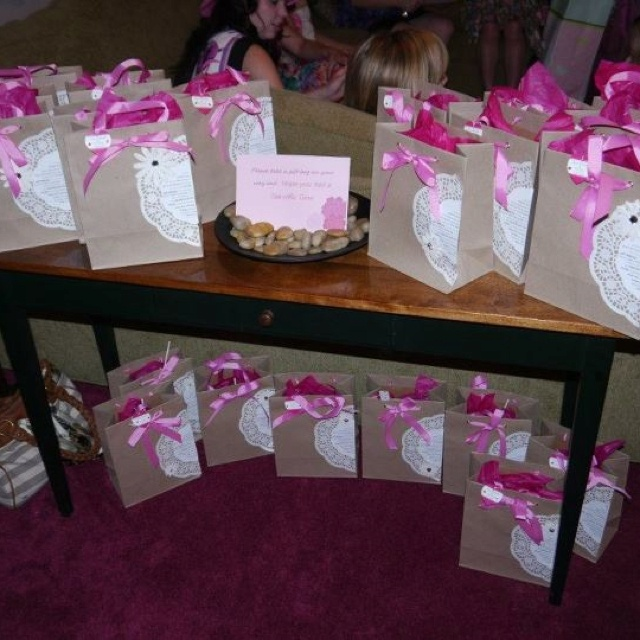 Ideas For Wedding Goodie Bags : Bridal shower goodie bags Bridal Shower Pinterest