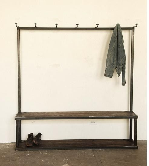 Bench Coat Rack For The Home Pinterest