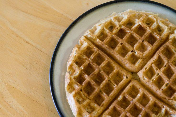 Whole wheat waffles. | Breakfast stuff | Pinterest