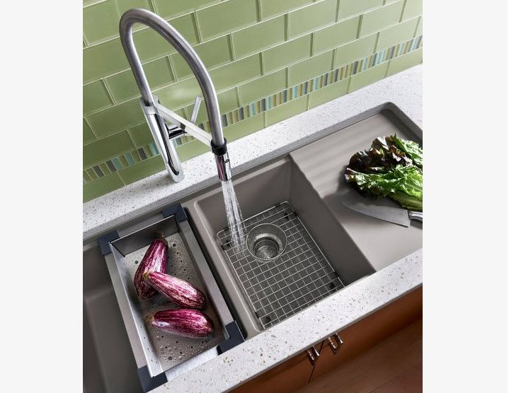 Blanco Farmhouse Sink : Blanco sink Home - Kitchens Pinterest