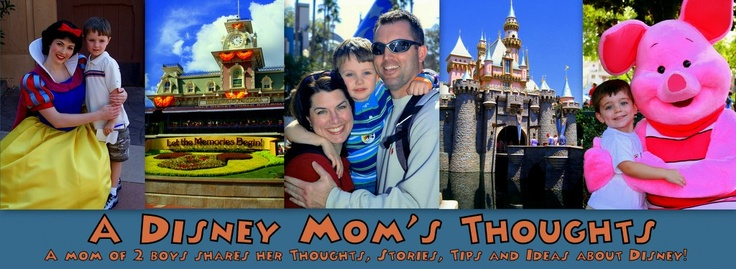 A Disney Mom's Thoughts-LOADS of disney info, tips, reviews.