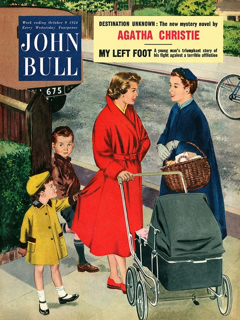 John Bull magazine, week ending 9th October, 1954. by totallymystified, via Flickr