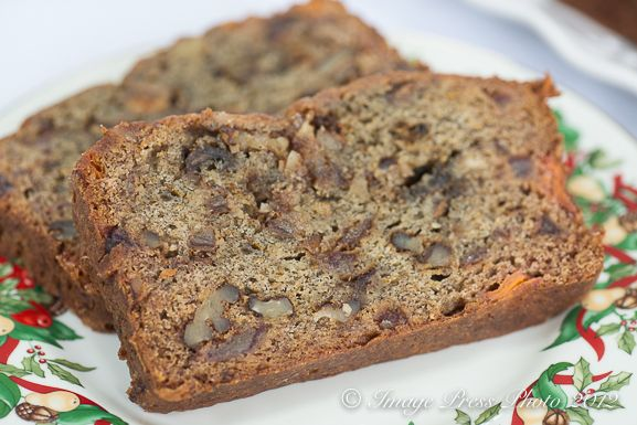 Persimmon Bread with Bourbon, Dates, And Walnuts   Bunkycooks