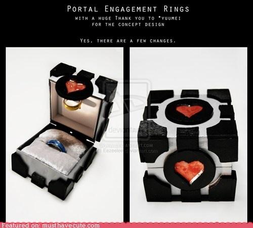 Portal Engagement Rings