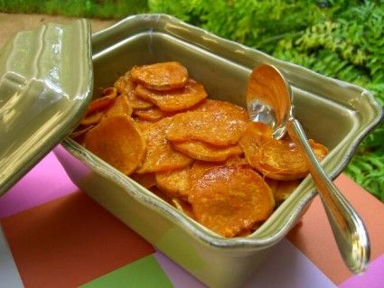 Healthy Apple & Ginger Sweet Potato Casserole! Made this for ...