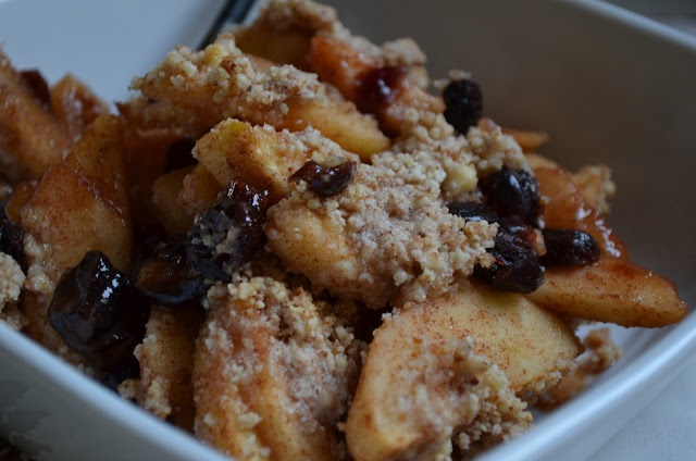 Baked Apple with Cranberries (Crumble) | Grain-Free Recipes | Pintere ...