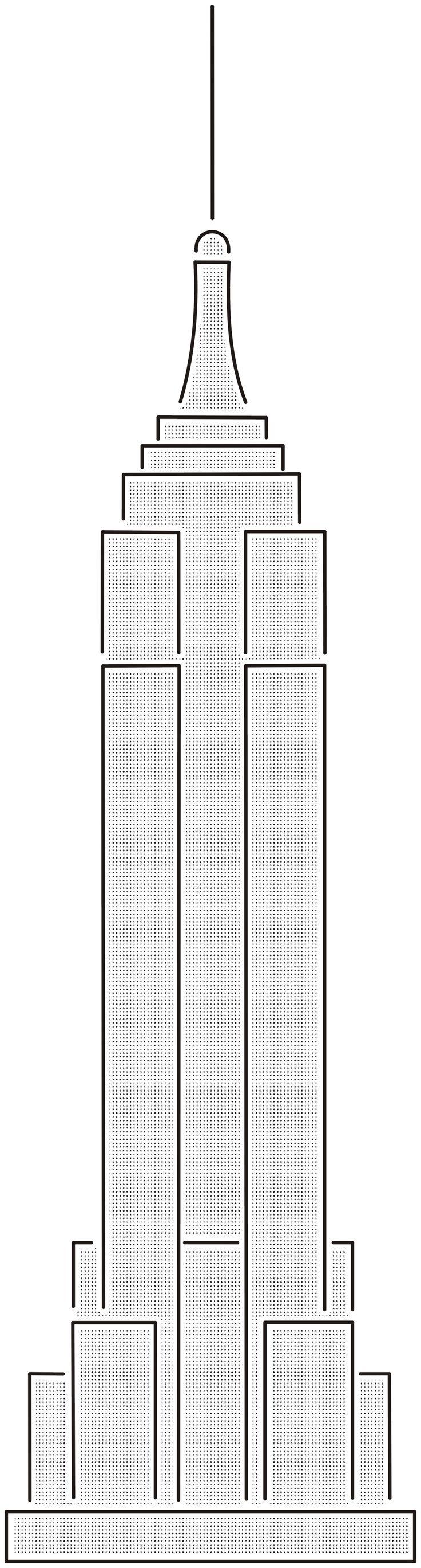 Empire state building floor plan