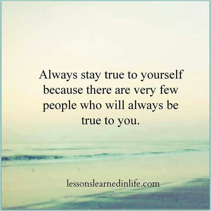 being true to yourself essay