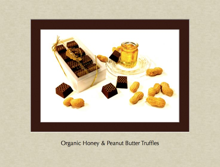Organic Honey and Peanut Butter Truffles... in a delicious balance of ...