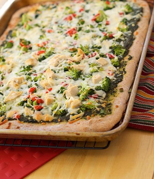 Pesto Pizza | Pizza Perfecto | Pinterest