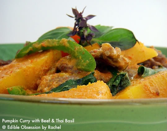 Pumpkin Curry with Beef & Thai Basil | Pumpkin Everything 2 | Pintere ...