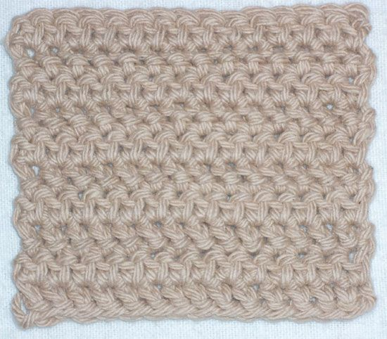 Double Crochet : Herringbone Half Double Crochet Stitch for Pinterest