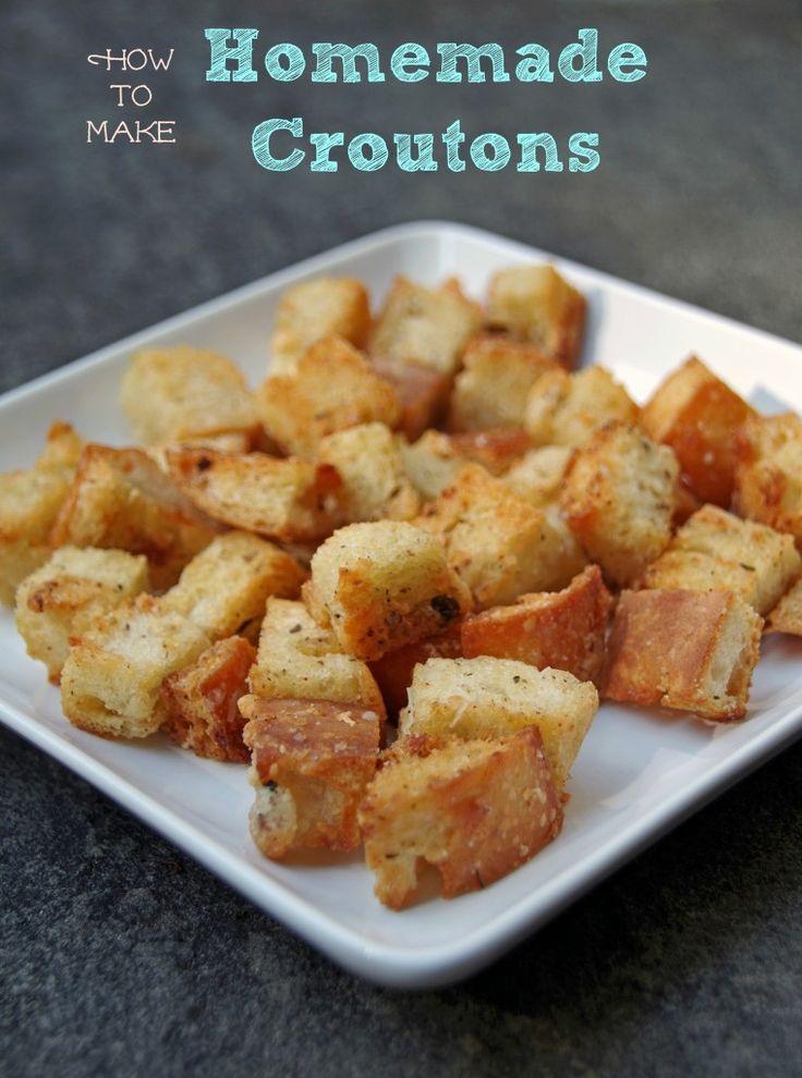 How to Make Homemade Croutons | Recipe
