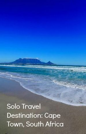 solo travel destination south africa