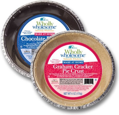 Pie Crusts: Graham Cracker & Chocolate | Gluten Free Foods | Pinter ...
