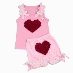 Baby Love Sweet Heart Rose Short Set