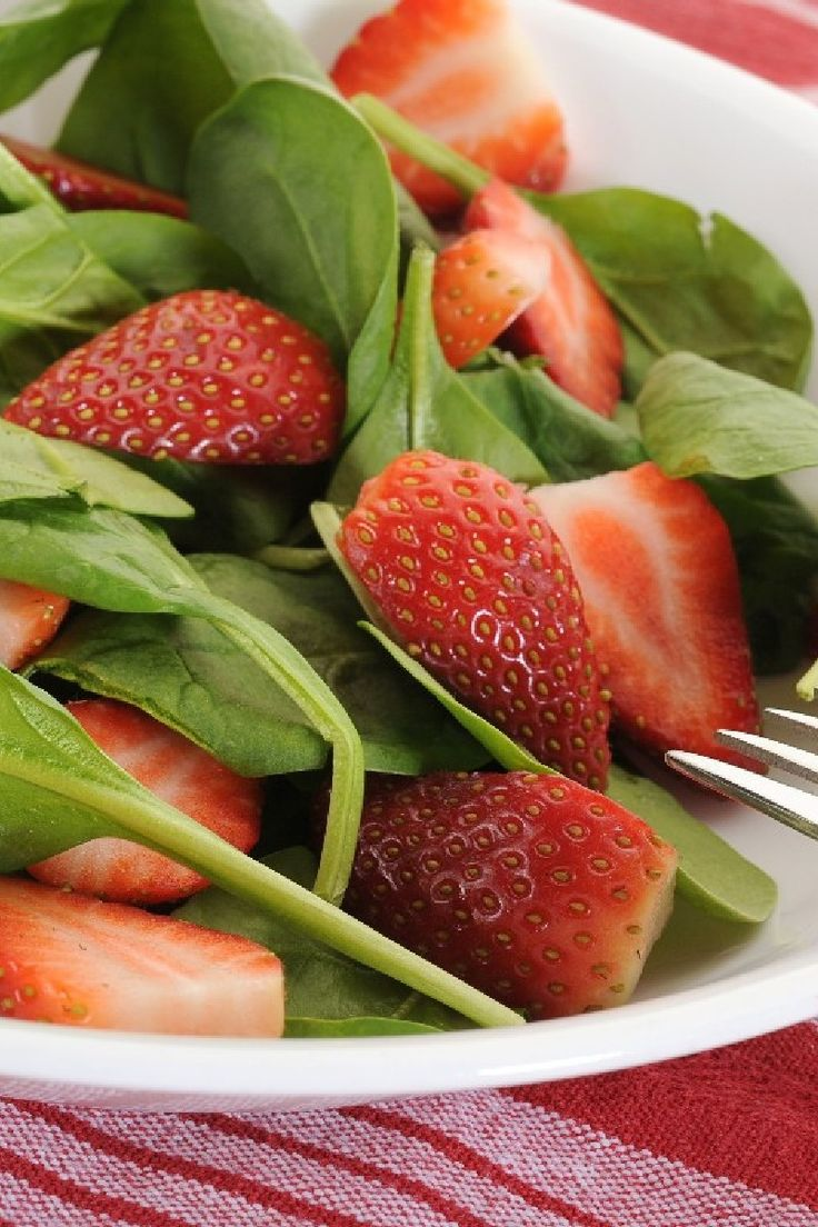 Spinach and Strawberry Salad Recipe | Salads | Pinterest