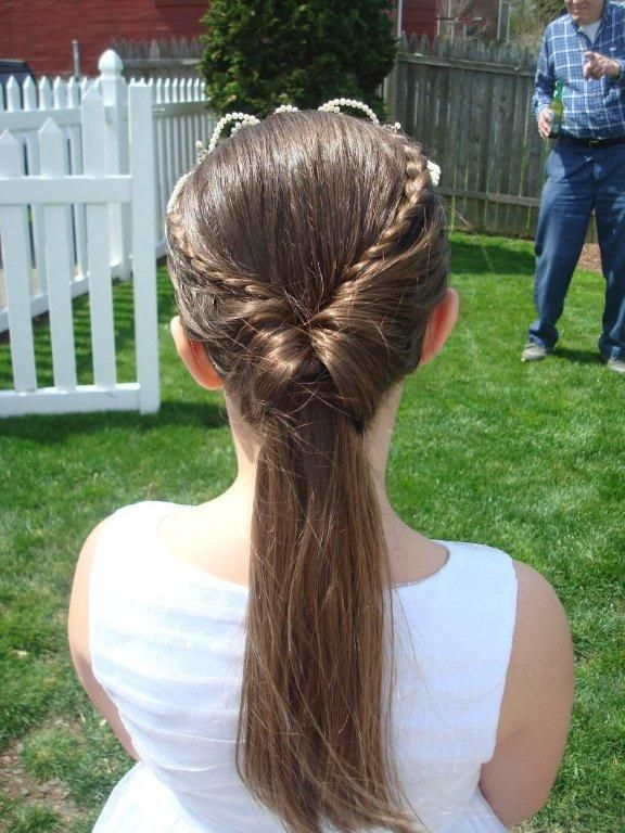 Best Ideas About First Communion Hair On Pinterest