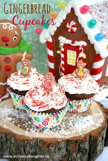 Gingerbread Cupcakes With Cardamom Cream Cheese Frosting Recipes ...