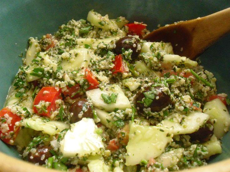 Lemon Herb Quinoa With Hemp Seeds, Spring Peas, And Basil Recipes ...