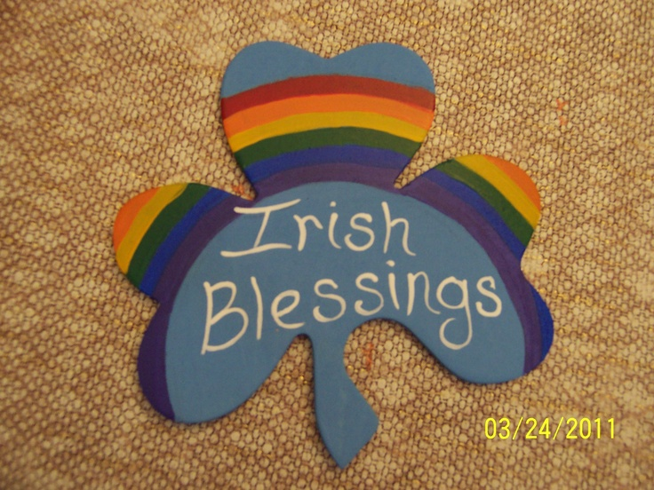 irish blessings arts and crafts pinterest